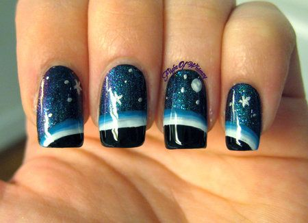 Horizon nails- so pretty. A must try w/ @Michaela Hale