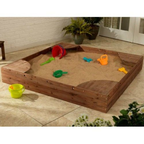 Sandbox-For-Kids-Backyard-Square-Sand-Box-Play-Outdoor-Toy-Activity-Wood-Deck
