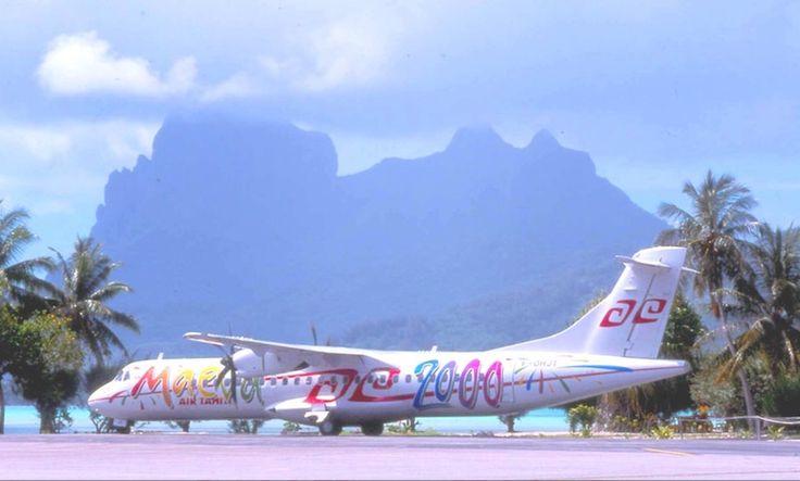 "Air Tahiti : ATR ""Maeva 2000"""