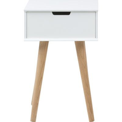 Fjørde & Co Hydra 1 Drawer Bedside Table