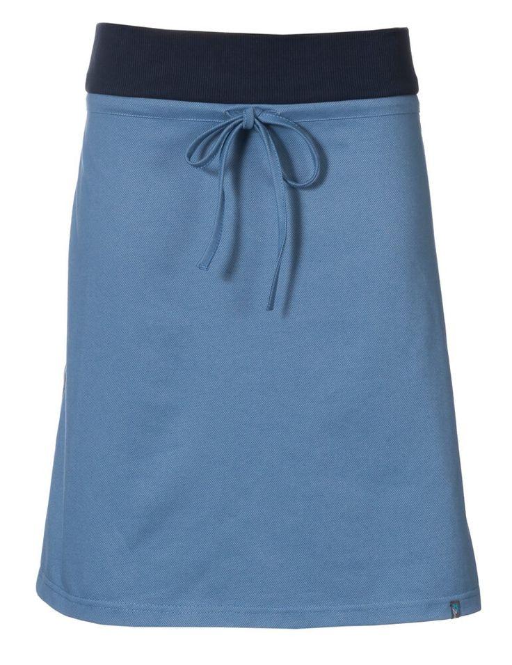 Zendee sportief rokje licht blauw jeans spijkerstof denim skirt blue