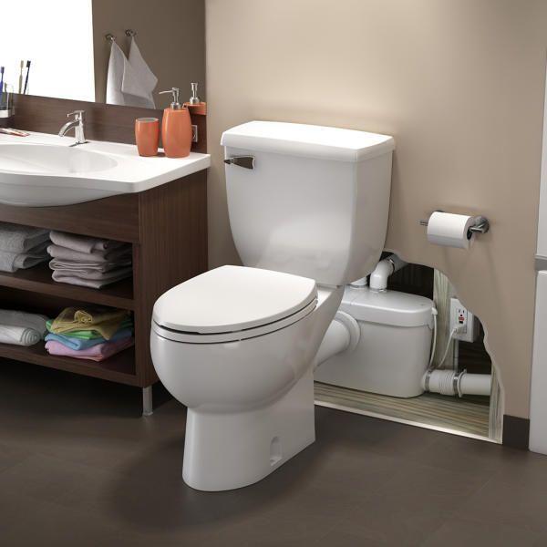 Saniflo 082 Image 1 Upflush Toilet Toilet Toilet Remodel