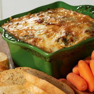 Yummy Artichoke-Spinach Dip #recipe