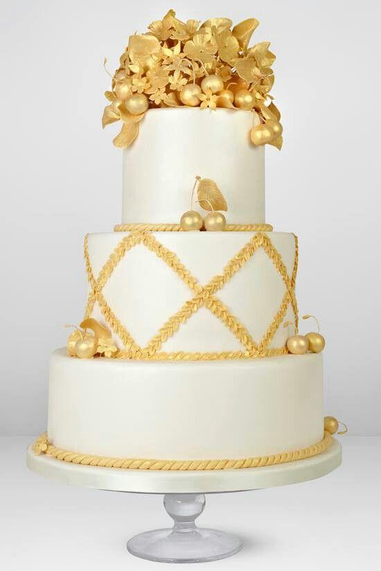 Gouden taart