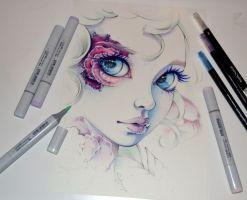 Frozen Rose by Lighane