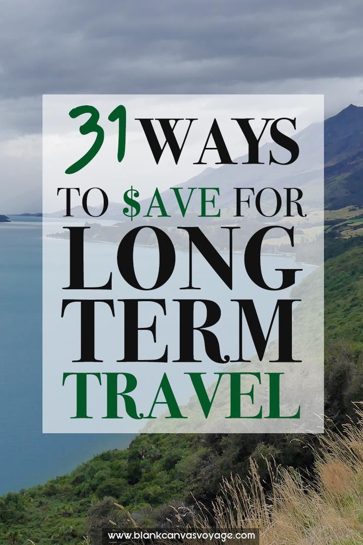 It is possible for anyone to turn their financial life around. Our ultimate list to save for long term travel will show you how to achieve it. Read More: http://blankcanvasvoyage.com/travel-advice/save-money-long-term-travel/