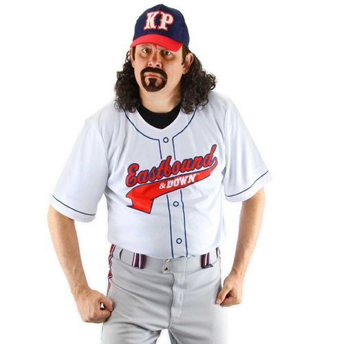 If you love Kenny Powers then dressing up as the Eastbound and Down baseball pitcher isn't even up for discussion. You need to be Powers for Halloween this year. If you've looking for a fast way to put together a Eastbound and Down Kenny Powers baseball Halloween outfit, then look no further. We've got all your Kenny Powers Halloween needs handled.