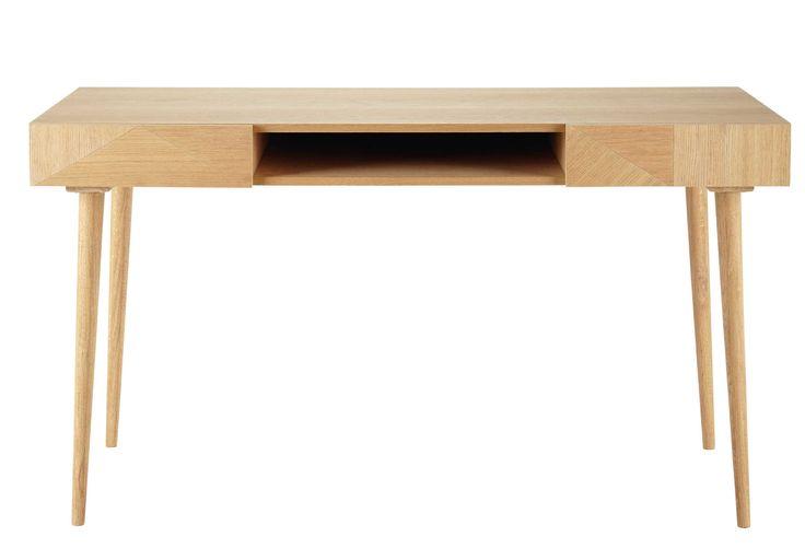 Bureau en bois L 140 cm Origami