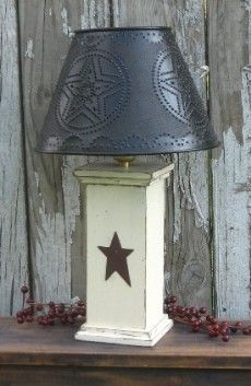 LOVE this lamp. Have one very similar my Daddy made me :)