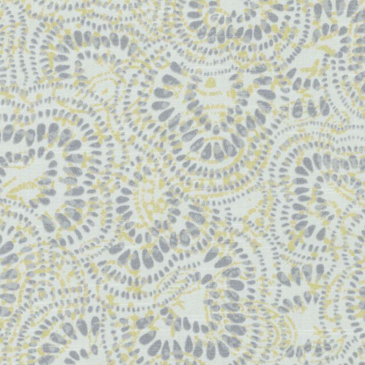 Pattern #:21084-205 Pattern Name: JAX, JONQUIL Book #2937 : Tilton Fenwick Prints Book #2936 - Cactus, Ochre: Tilton Fenwick Collection