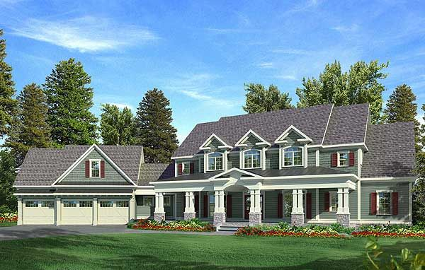 Plan 3645dk Craftsman With A Farmhouse Touch Craftsman