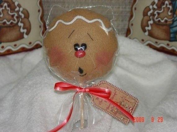 Gingerbread Cookie adorno Pop EPattern por simplysweetgifts en Etsy