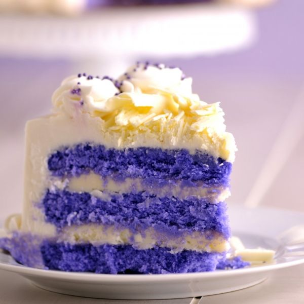 Purple Velvet Cake ~ Oh yummmm Omg this looks so freaking good!!!!