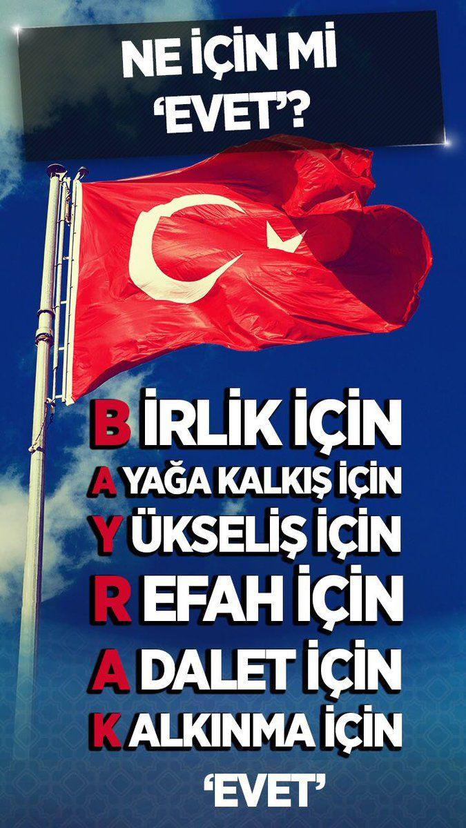 Türkiye için EVET