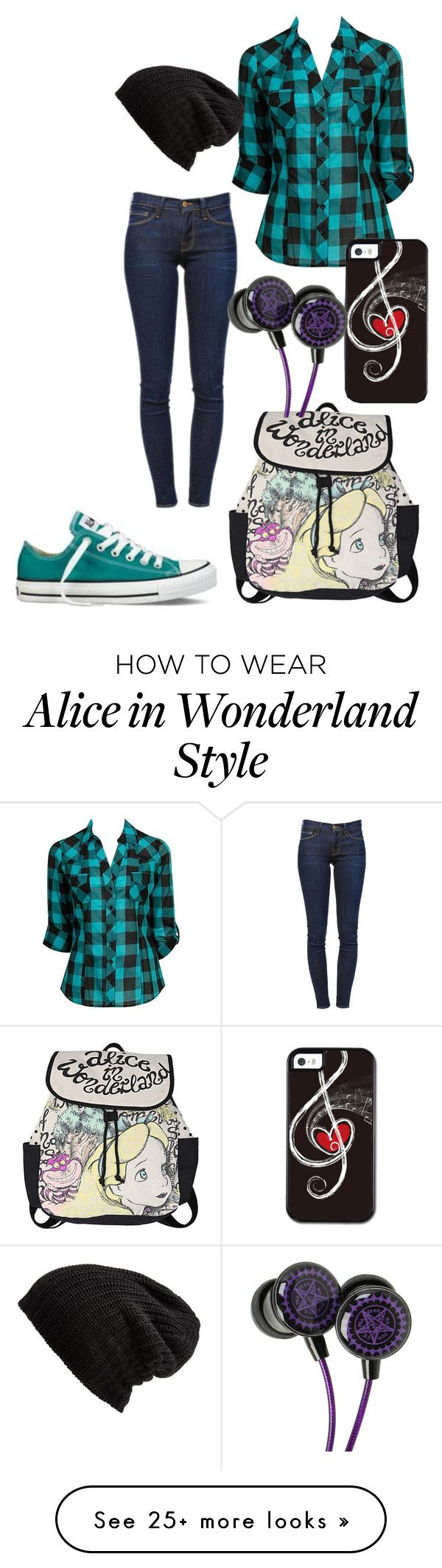 """i can not come up with creative names anymore"" by gracerose03 on Polyvore featuring Disney, Forever 21, Converse, Frame Denim and Free People"