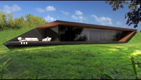 Futuristický dům - návrh luxusní vily http://www.palazzio.cz
