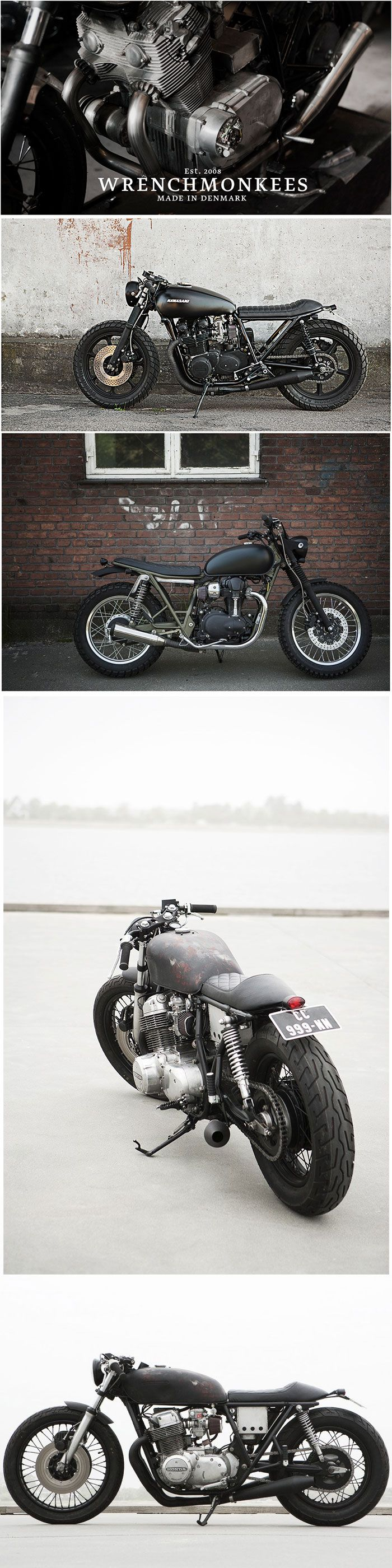 Hailing from Copenhagen, the Wrenchmonkees are considered one of the most influential custom motorcycle builders in the world.