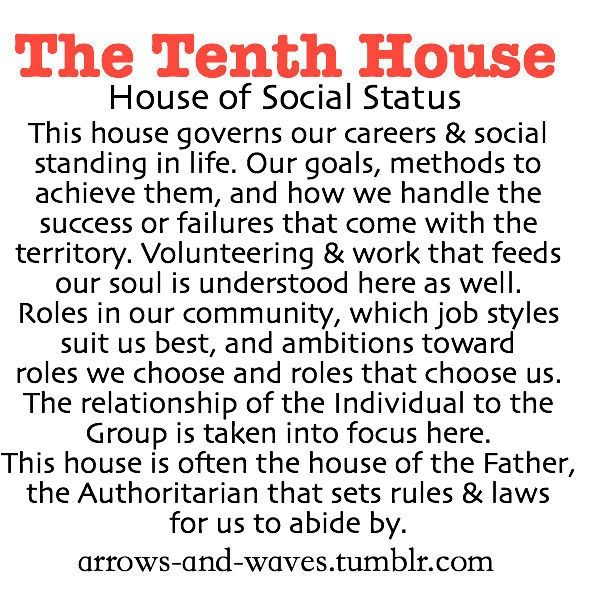 Astrology: 10th (Tenth) House (House of Social Status) | #Astrology #10thHouse #TenthHouse