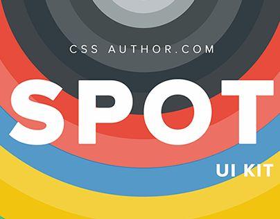 "Check out new work on my @Behance portfolio: ""SPOT UI Kit (FREE)"" http://on.be.net/1dtXrSm"