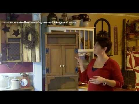 country cabinet makeover country decorating ideas in this video of country decorating