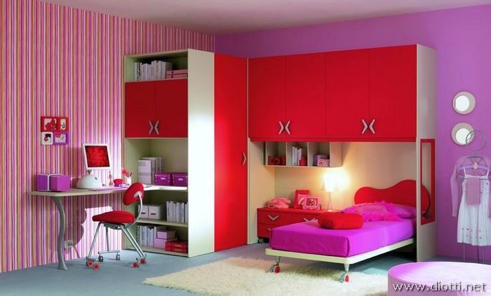 8 best cameretta images on pinterest child room wood for Camerette piccole per ragazze