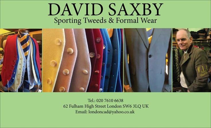 David Saxby London