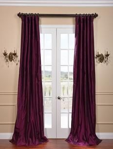 Half Price Drapes Chambord Silk Taffeta Curtain  , #HalfPriceDrapes  , #SilkTaffetaCurtain