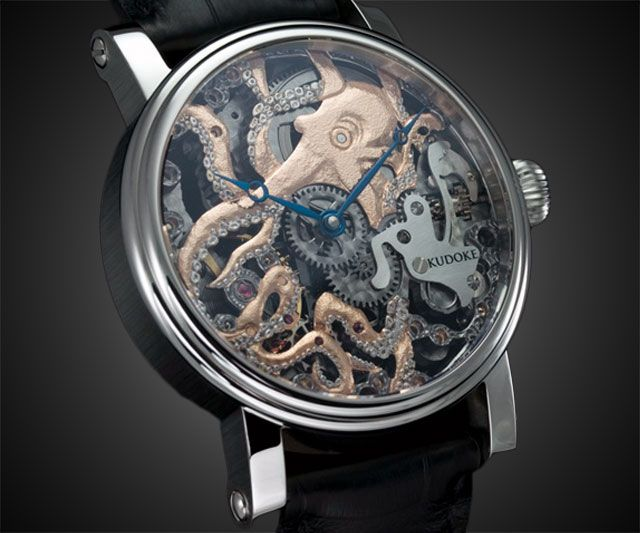 It Will Be Mine, Oh Yes, It Will Be Mine (There's Zero Chance It Will Ever Be Mine): $9,860 Octopus Watch