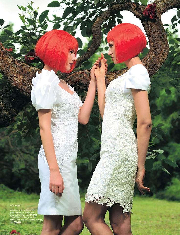 Lost in Fantasy Land (Weddingku March – May 2012), Photographer : Mario The Nine, Stylist : Dhani Agustia,  Make Up &  Hair Do : Nadia Sadeli, Model : Euginia & Valentina