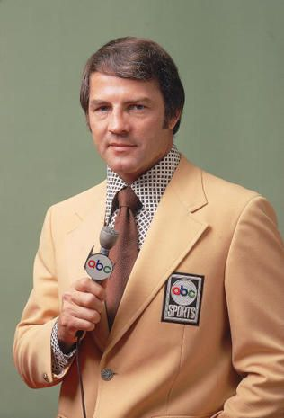 """""""Monday Night Football"""" - Frank Gifford 1930-2015 - Pictures - CBS News"""