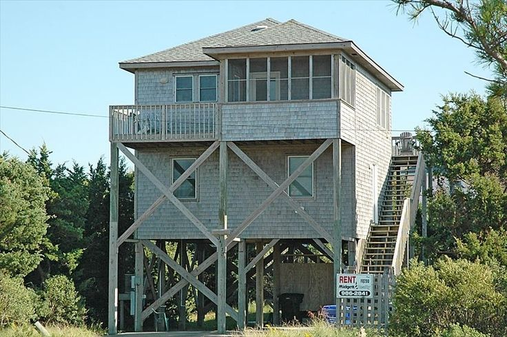 7 best outer banks beach houses images on pinterest for Hatteras cabins rentals