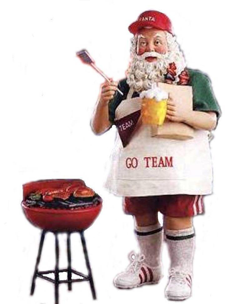 RETIRED 2008 FABRICHE *Hurray for Santa Claus* SANTA TAIL GATES, NIB