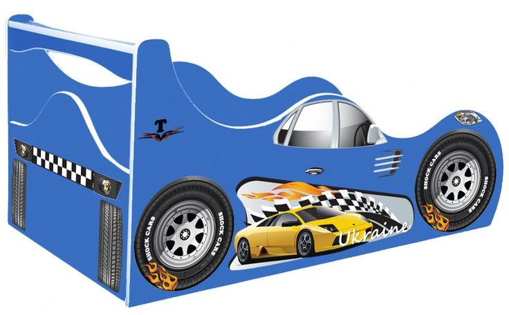 "• КРОВАТИ МАШИНЫ Shock Cars ""Кровать машина Такси"" Кровать машина Такси Taxi синяя"