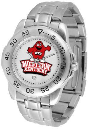 Western Kentucky Hilltoppers Sport Steel Band Men's Watch