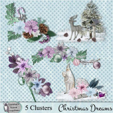 Christmas Dreams Clusters