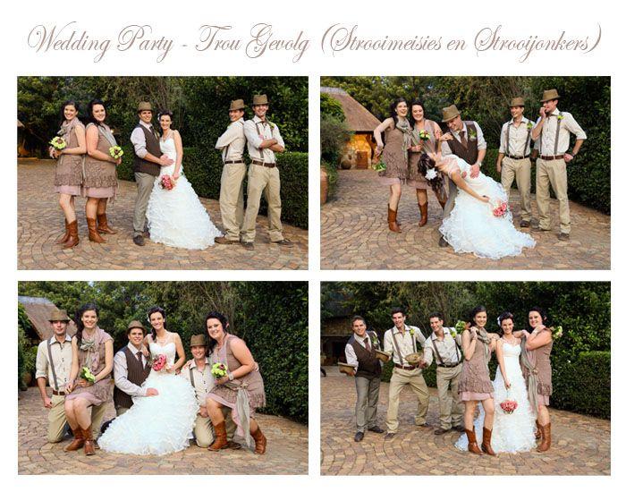Wedding Party - Bruids gevolg