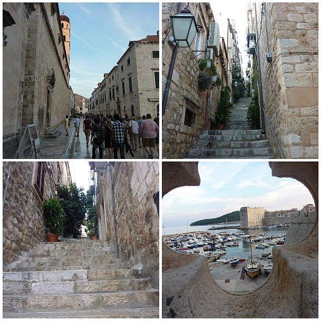 Dubrovnik Altstadt Collage