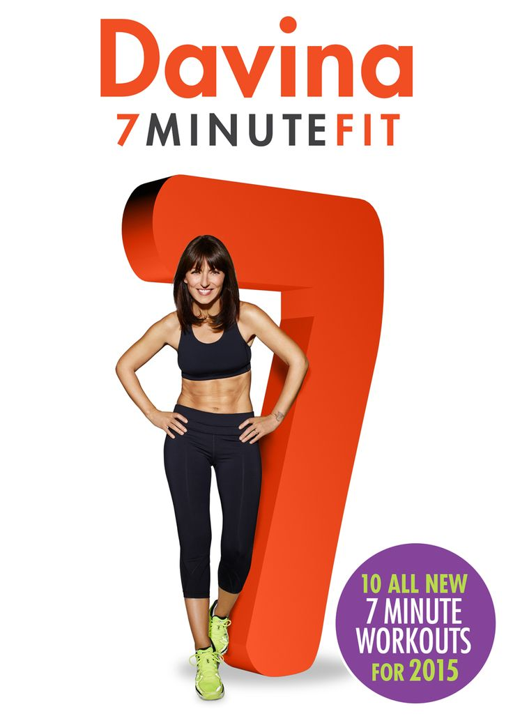 Get 7 Minute Fit with Davina - Davina McCall - my current staple exercise diet
