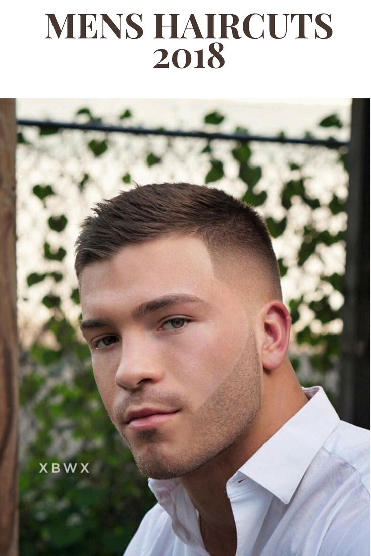 Top 100 Mens Haircuts 2018 Short Textured Crop + Fade Check out our gallery For 1000s more Mens Hairstyles . #hair #Men #hairstyle #Barber #menshair