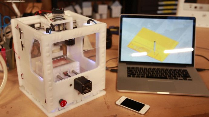 The Othermill: Desktop CNC Milling Machine