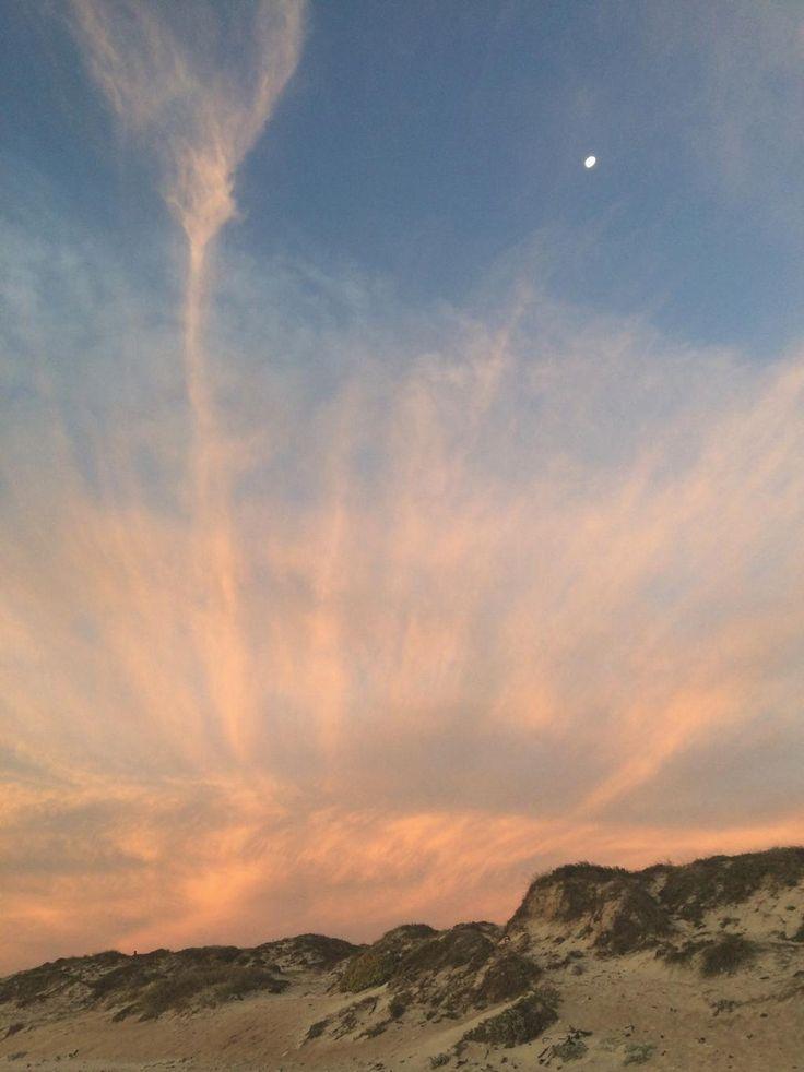 How high the moon... #sunset