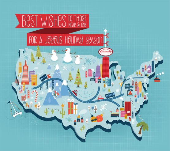 Best Maps Images On Pinterest Map Illustrations Illustrated - Us map illustration