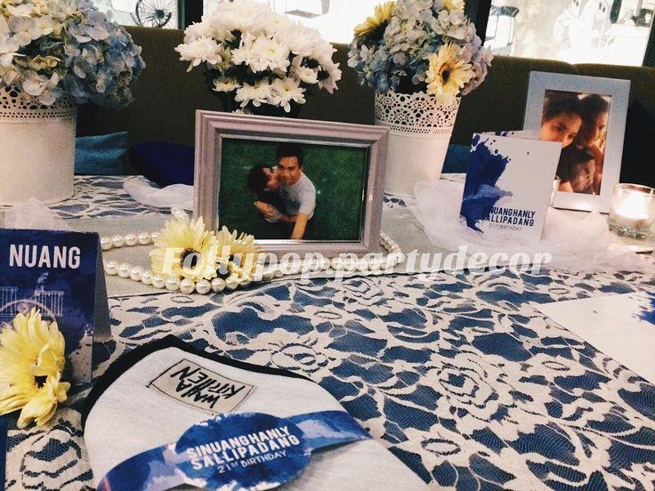Hayati's romantic dinner Table setting colour theme : blue white Type of event : #romanticdinner Number of people : 2 pax Venue : @wahakitchen @kosendahotel  Reservation and pricelist:  follypop.partydecor@gmail.com Whatsapp: 085780807560 / 081901603061 / 081294060208 . . . #partydecorationjakarta #partydecoration #trustedpartyplanner #partyplannerjakarta #tablesettingjakarta #tablesetting #tablesettingmurah #infoevent #jasadekorjakarta #jasadekormurah #jakartadekorasi #babyshower #dinner…