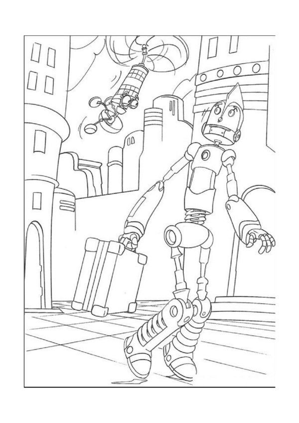 14 best Coloring Pages (Robots) images on Pinterest | Coloring books ...
