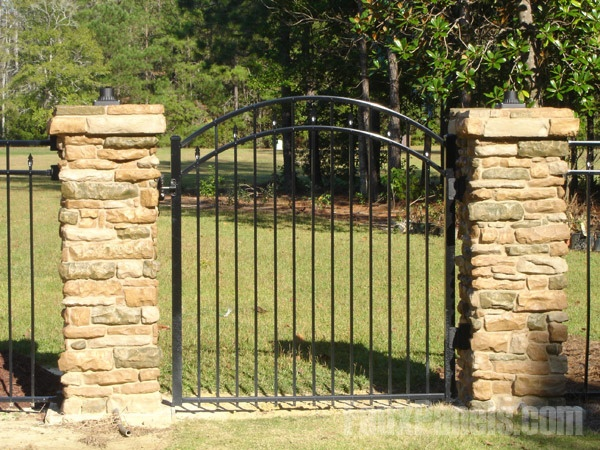 Stone Columns For Driveways : Best driveway entrance landscaping images on pinterest