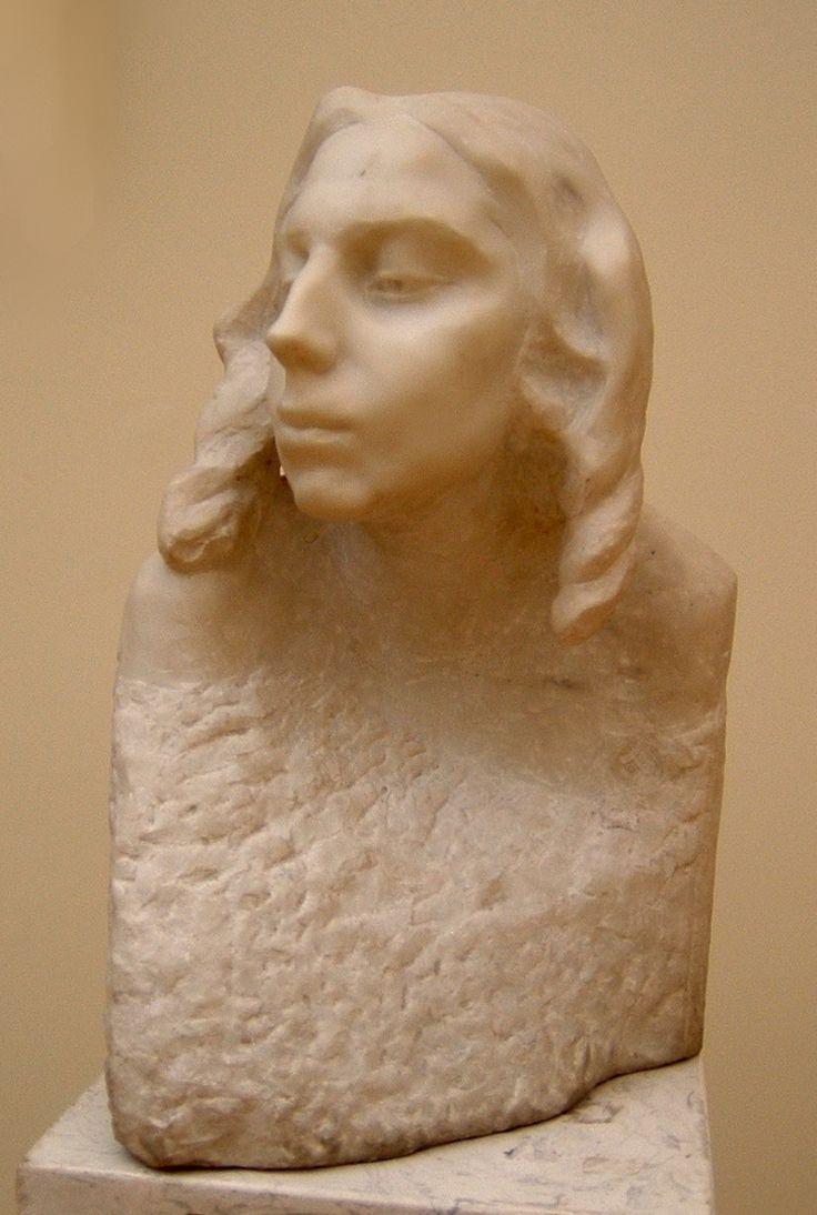 Anna Golubkina Sculptor E.D. Nikiforova-Kirpichnikova, 1908. The Russian Museum А.С.