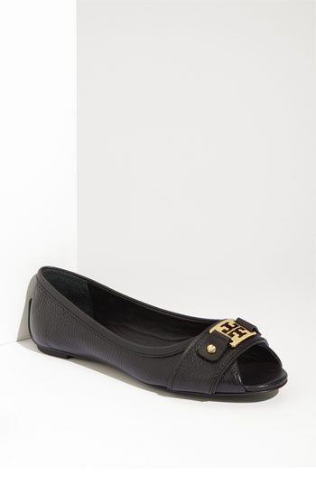 Tory Burch 'Clines' Ballet Flats /// perfect for work in the summer