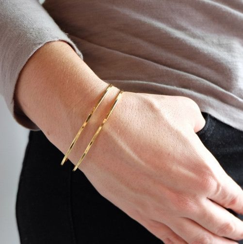This cuff looks fabulous paired with some neutrals.