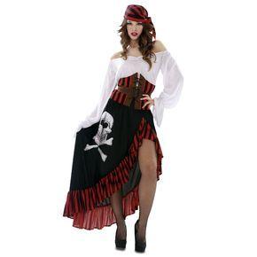 Disfraz de Pirata Bandana Mujer #disfraces #carnaval