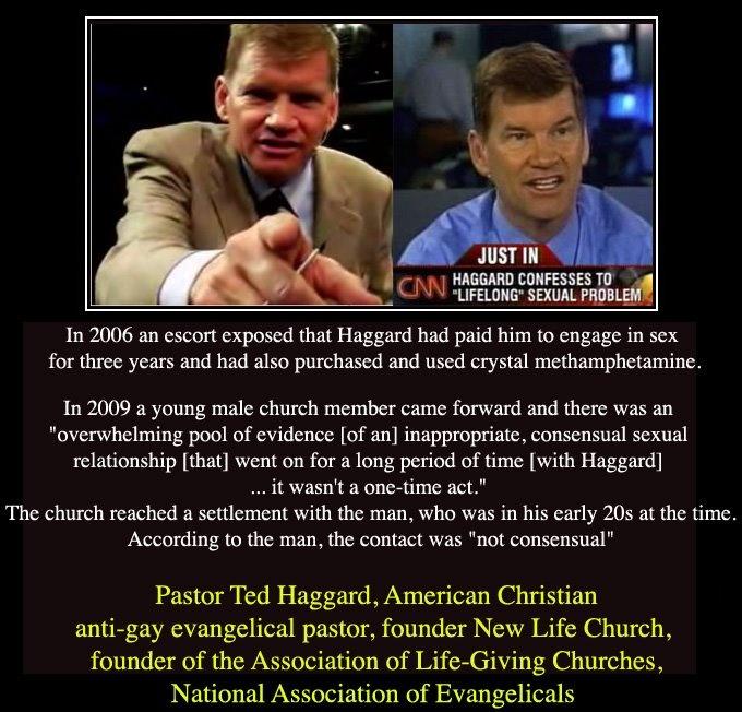 Pervy Pastor Ted Haggard